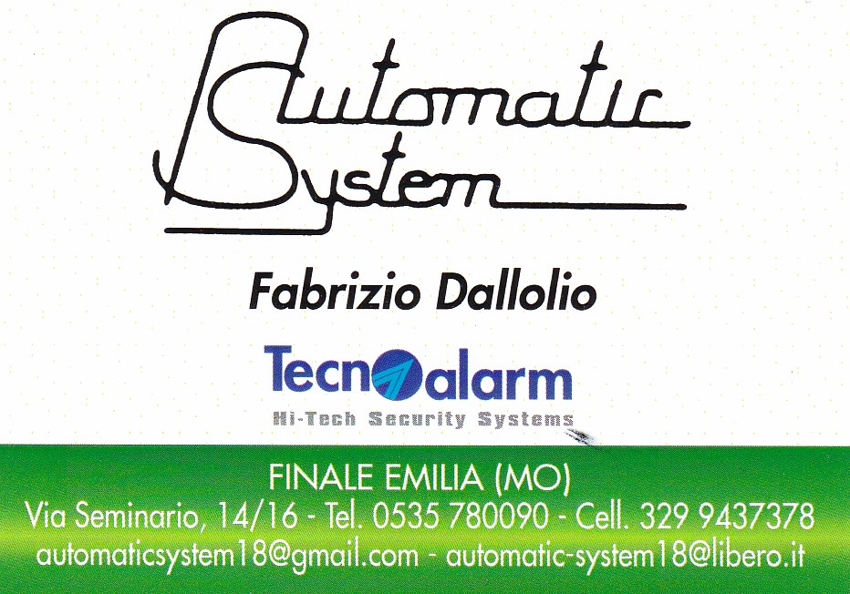 Assipi presenta i suoi soci fornitori: Automatic System di Dallolio Fabrizio