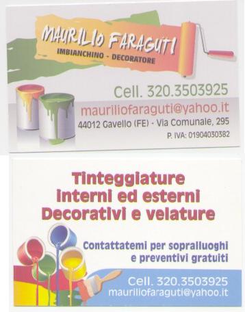 Assipi presenta i suoi soci fornitori: Maurilio Faraguti Imbianchino/Decoratore