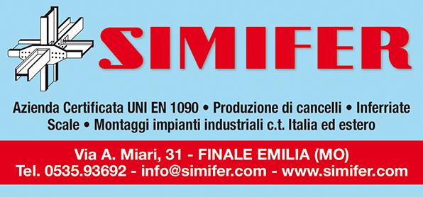 SIMIFER S.R.L. – Carpenteria generale impiantistica industriale